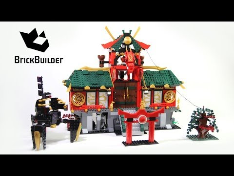 Lego Ninjago 70728 Battle For Ninjago City - Lego Speed Build video