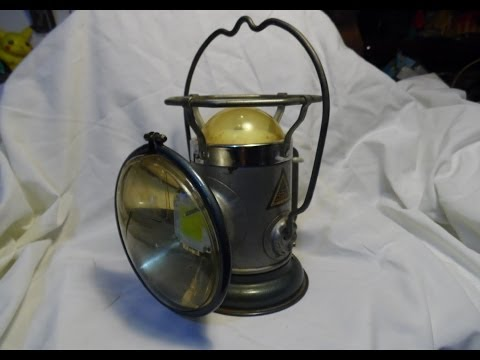 DIY Antique Lamp 100w LED Upgrade conversion