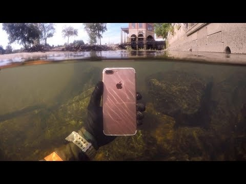 Found Lost iPhone Underwater in River While Snorke MP3