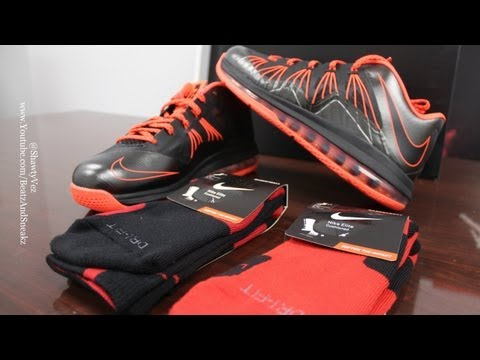 Nike LeBron Air Max X Low Total Crimson Review