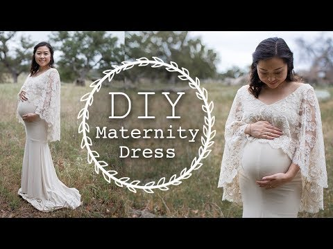 DIY Maternity Dress | Thrifted Transformations Ep. 72 - YouTube