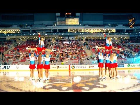 """Танцы на льду: выступление Sochi Queens перед матчем """"Сочи"""" - """"Куньлунь РС"""" (22.08.2017)"""