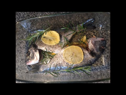 Простой Рецепт Рыба Как приготовить  Вкусный Морской лещ Дорада