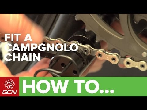 How To Fit A Campagnolo Road Bike Chain