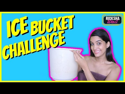 Rickshawali does the ALS Ice bucket Challenge #ALSIcebucketchallenge...