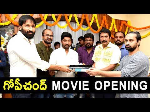 Gopichand New Movie Opening | Tollywood | Latest Telugu Movies | Niharika Movies