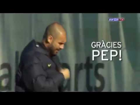Adis y Gracias Pep Guardiola!