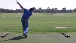 "Revolutionary  Golf Swing One Handed Release By ""Hammer Man"" Lavery"