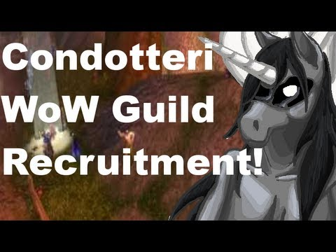 Condottieri - Moon Guard: WoW Guild Recruitment Thingy