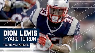 Osweiler Throws Another INT, Leads to Lewis TD!   Texans vs. Patriots   NFL Divisional Highlights