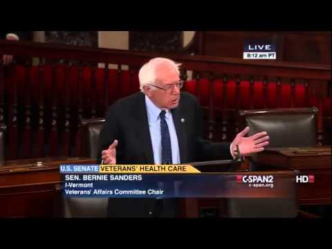 Bernie Sanders and John McCain on Veterans Health Care (7/24/2014)