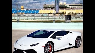 Hot Lap Lamborghini Huracan LP610-4 2015 at Homestead Miami Speedway