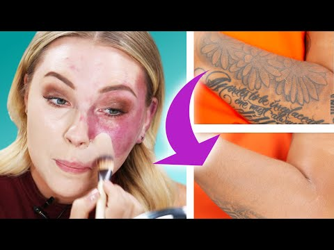 Women Try The Best Foundations For Covering Uneven Skin