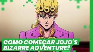 POR ONDE COMEÇAR JOJO'S BIZARRE ADVENTURE ft Tengu (Jojo no Kimyou na Bouken) | ANIME