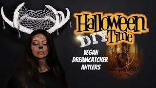 D.I.Y. Vegan Antlers - Legend of Deer Woman - Dreamcatcher