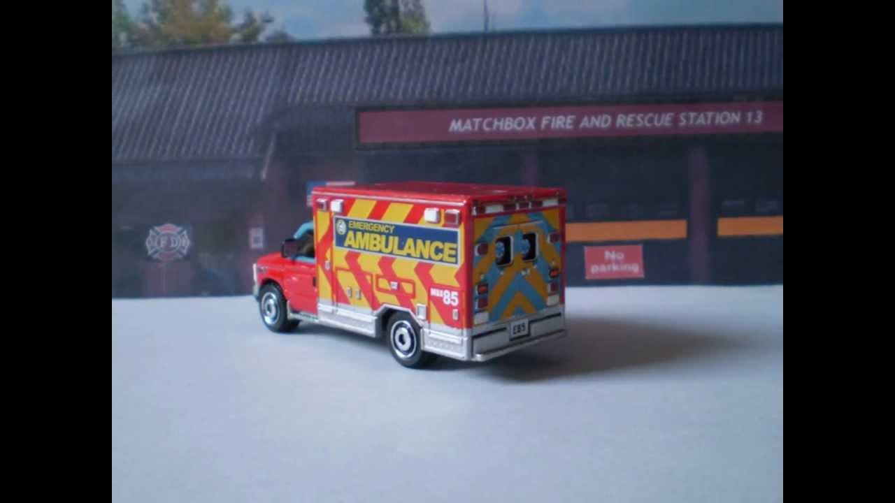 Matchbox Ford E350 Ambulance Matchbox Ford e 350 Ambulance