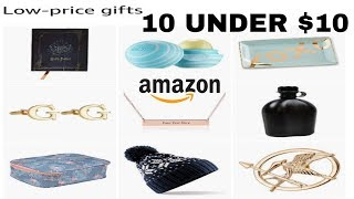 Amazon 10 under $10 gift ideas| Early Christmas shopping!