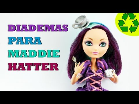 Tutorial de Diademas para Madeline Hatter