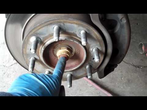 How to Change the Wheel Hub Bearing on your Duramax and fix the ABS light