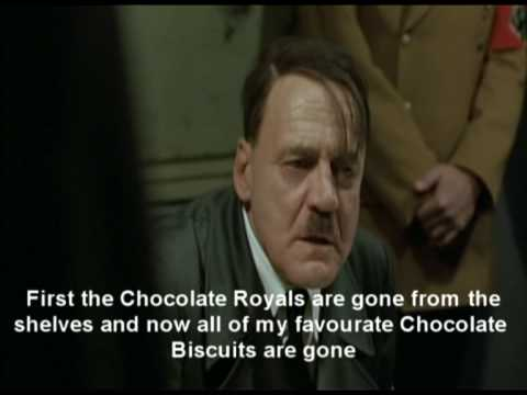 Hitler v Chocolate Biscuits