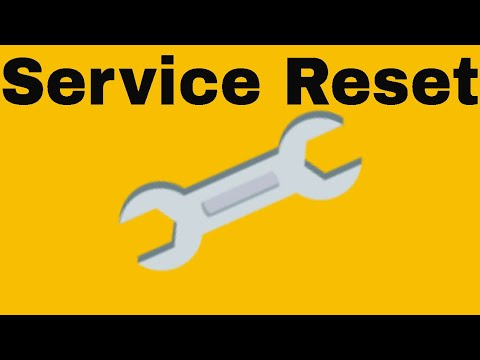 How To Reset The Service Interval On Vw Jetta Youtube