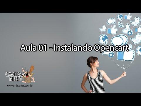 Aula 01 - E Commerce profissional em opencart 2015 - Instalando o opencart