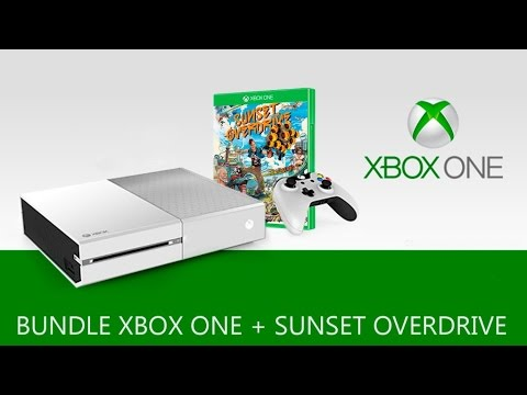 Xbox One White Special Edition Sunset Overdrive Bundle - YouTube Xbox One White Console Sunset Overdrive