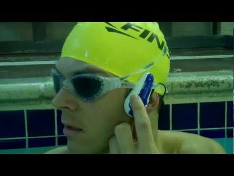 SwiMP3 FINIS Review Waterproof MP3 Digital Music Player