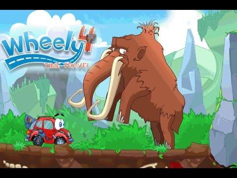 wheely 4 time travel game play walkthrough youtube