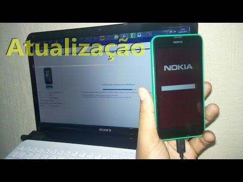 Reinstalando software da linha Lumia via Nokia Software Update!