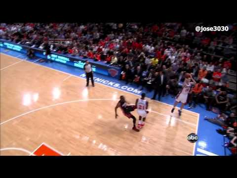 Jeff Van Gundy Rant On Flopping In The NBA - Heat @ Knicks 4/15/2012