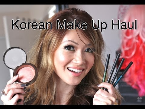Big Korean Make Up Haul