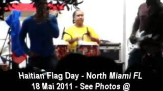 Harmonik Live - Haitian Flag Day- Downtown North Miami Fl