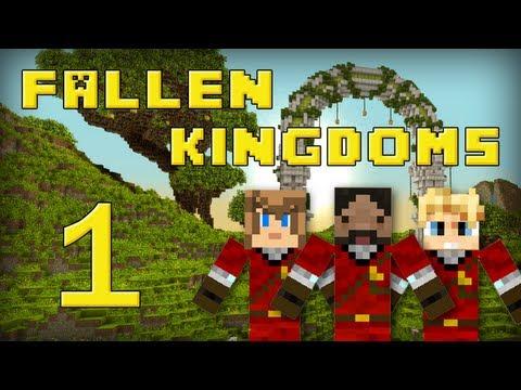 Fallen Kingdoms : Frigiel Zelvac Playfan Jour 1 Minecraft