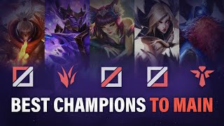 Best Champions to main for EVERY ROLE in Season 10