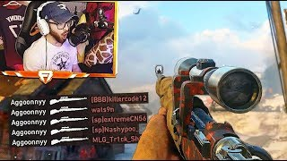 MY BEST CLIP YET!! (INSANE COD WW2 Sniping Gameplay)