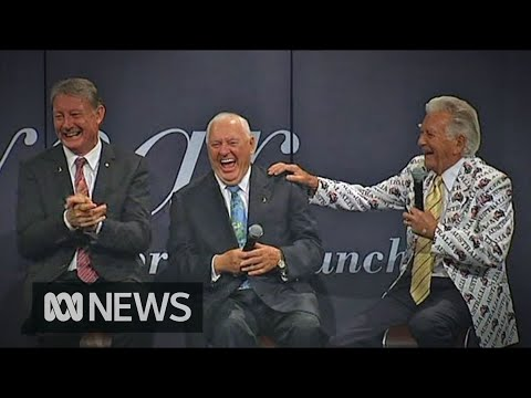 Former PM Bob Hawke shares joke which captures 'Australian irreverence'