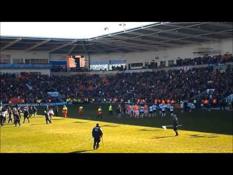 BLACKPOOL V DERBY COUNTY 27 APRIL 2013 FINAL WHISTLE