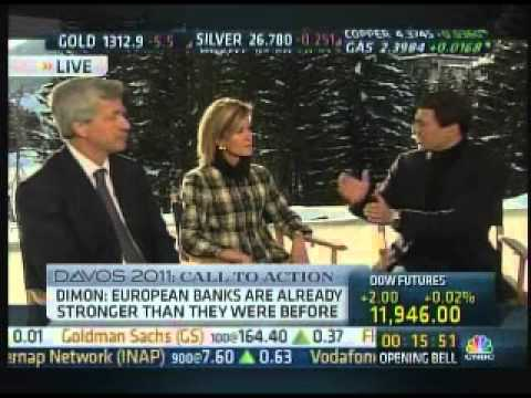 Jamie Dimon Davos interview on CNBC