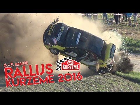 Rallijs Kurzeme 2016 (Actions & crahes)