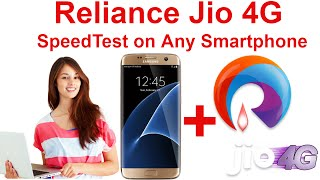 4G LTE SPEED TEST ON RELIANCE JIO