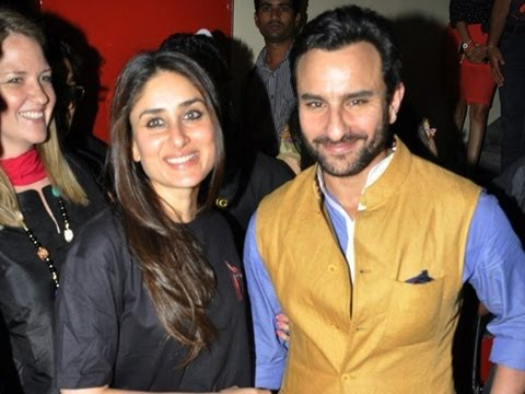 Special Screening Of Agent Vinod | Saif Ali Khan & Kareena Kapoor