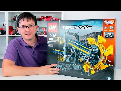 Самый огромный ЛЕГО Техник набор: 42055 Роторный экскаватор