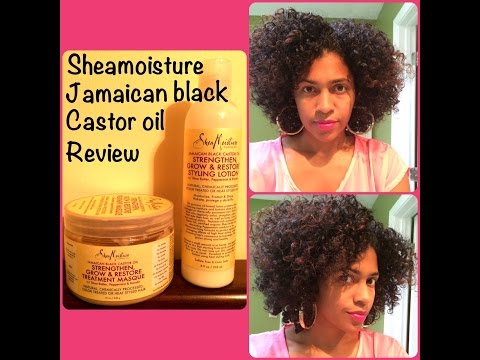 *NEW* SHEAMOISTURE Jamaican Black Castor Oil line: tutorial & review!!!