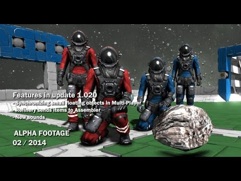 Space Engineers - Synchronizing floating objects in Multi-Player, New sounds