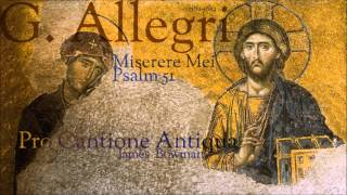 G Allegri Miserere Mei Psalm 51
