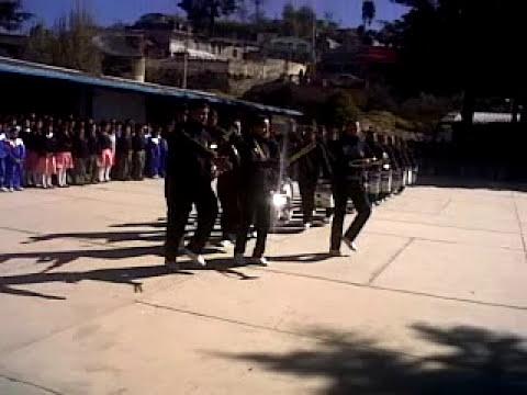 Concurso estatal de bandas de guerra de secundarias generales segunda etapa