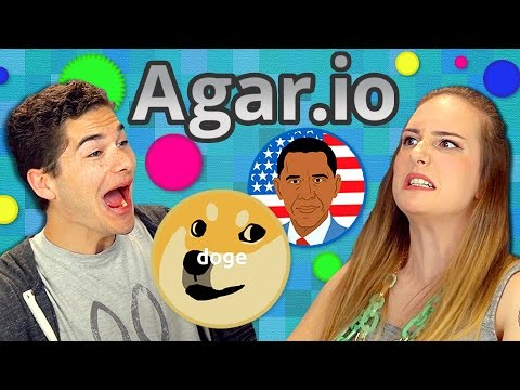 AGAR.IO (Teens React: Gaming)