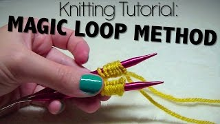 Knitting Tutorial - Magic Loop Method