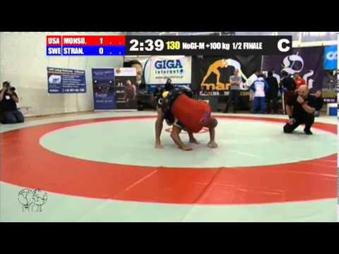 NoGi-M 100+ KG - SF - Jeff Monson (USA) vs. Magnus Strandner (SWE) Image 1